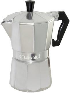 Cuisaid Xpress-O Stove-Top 3 Cup Espresso Maker