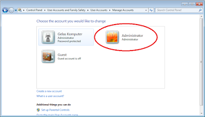 3 Cara Mengaktifkan Akun Built-in Administrator Windows 7