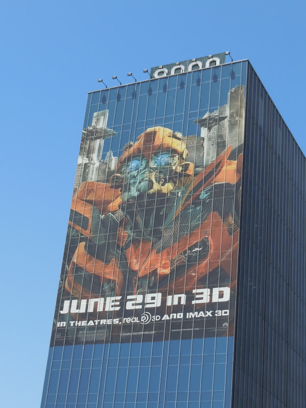 Bumblebee Transformers 3 billboard