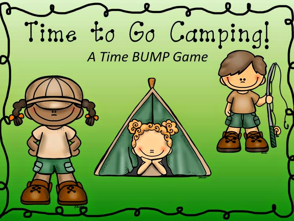http://www.teacherspayteachers.com/Product/Time-to-Go-Camping-A-Time-BUMP-Collection-1194995