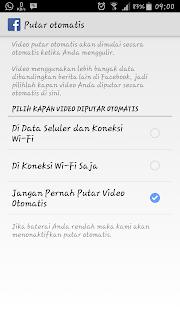 Cara Mudah Agar Vidio Face Book  Di Smart Phone Android Tidak Autoplay