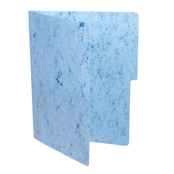 Fólder Azul T. Carta con Broche