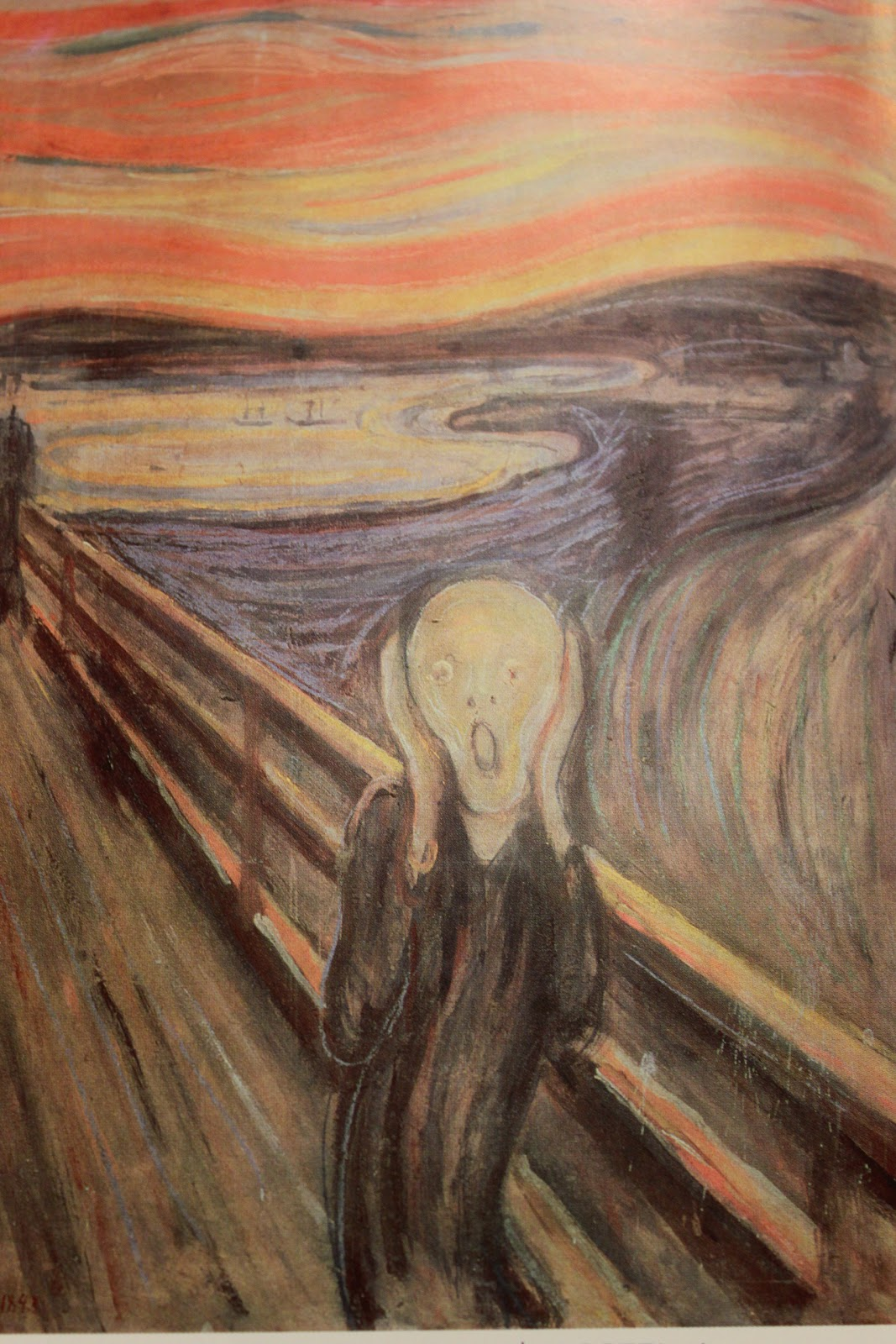 the features of expressionism in munchs painting the scream Get access to the scream by edvard munch essays only from anti essays edvard munch extreme facial features, standing expressionism were painting.