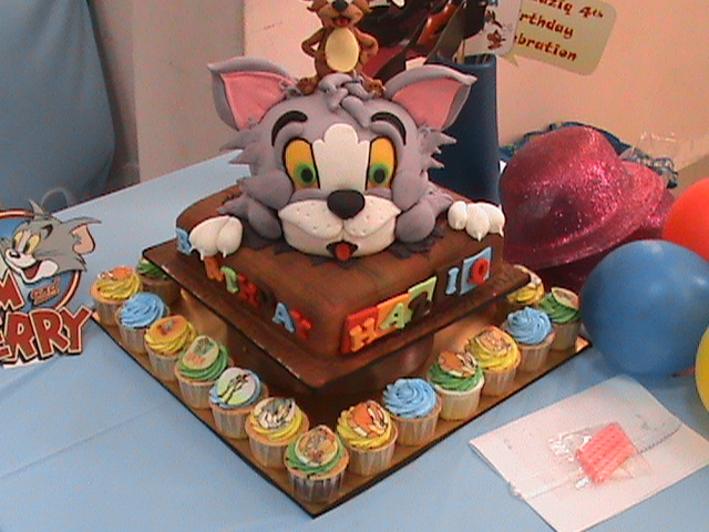 Petite D Party Planner Ipoh Kuala Lumpur Malaysia Haziq 4th Tom Amp Jerry Birthday Party