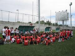 Encuentro de Salvemos al fútbol con el Fútbol infantil