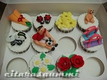 MODUL KELAS : BAKE & DECO BASIC CUPCAKES WITH FONDANT