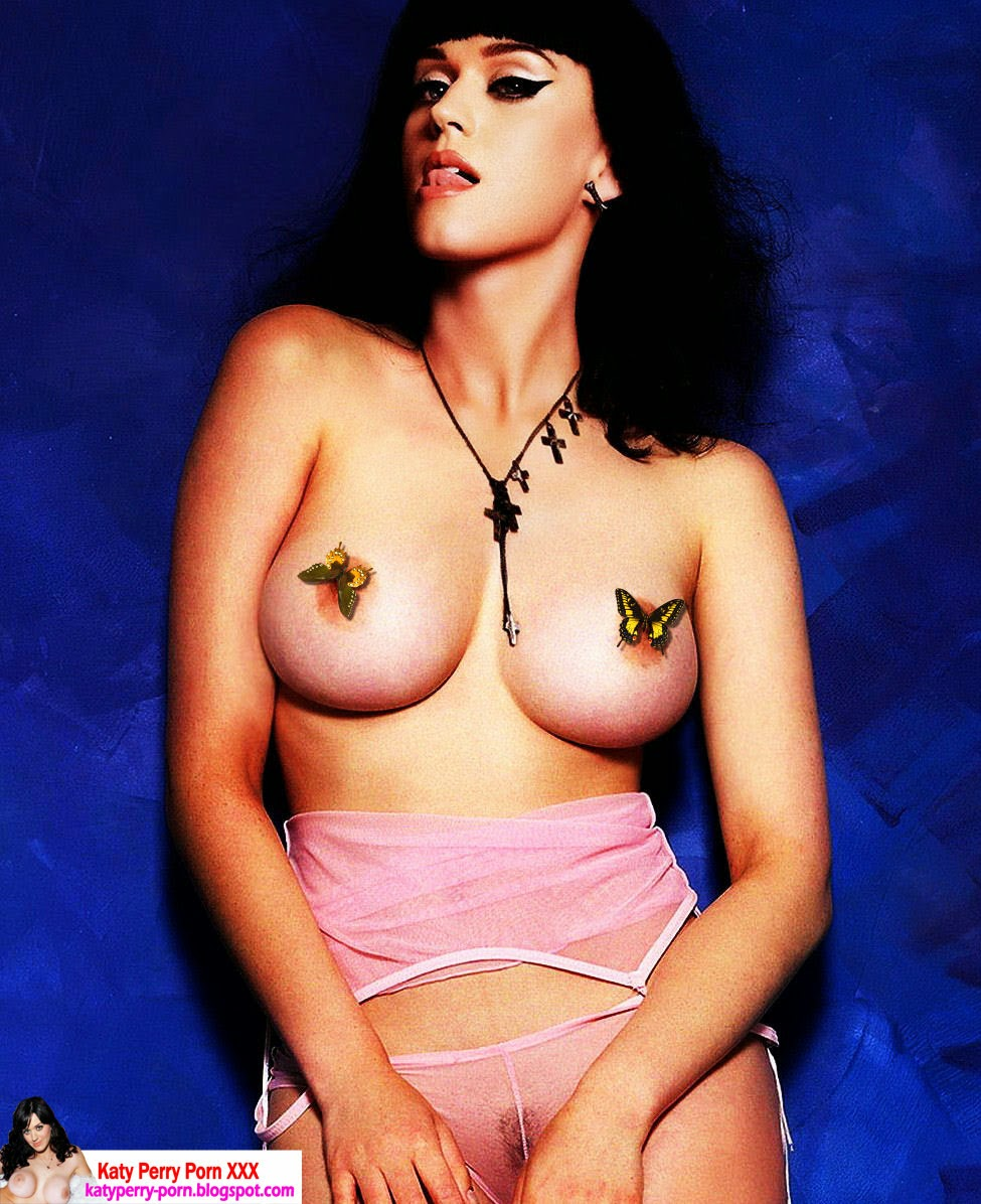Katy Perry topless videos and image