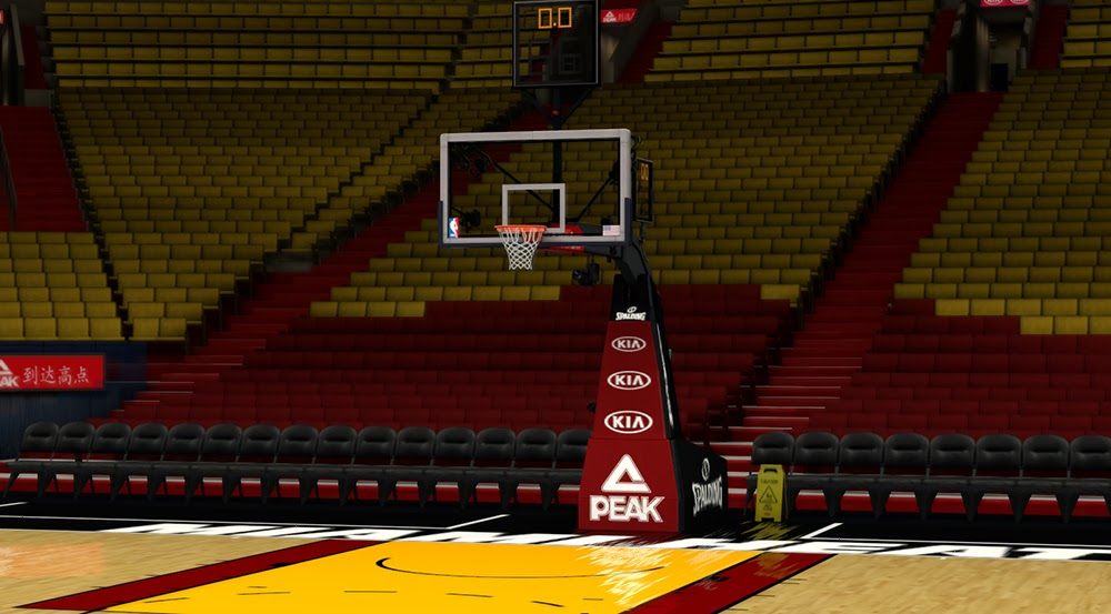 Description: This NBA 2K14 patch updates the floor and stadium of the ...