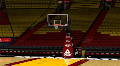 NBA 2K14 Miami Heat Court Mod