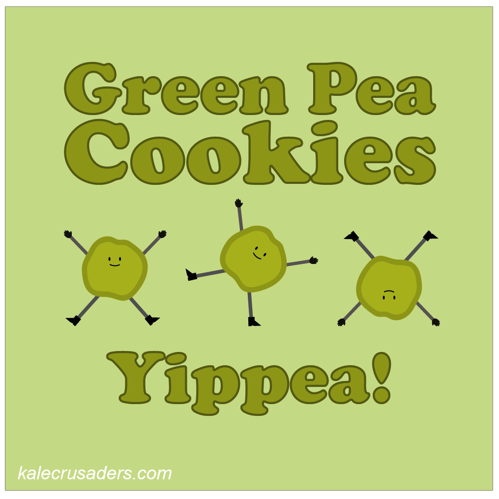 Green Pea Cookies, Yippea! Chinese New Year Coookies