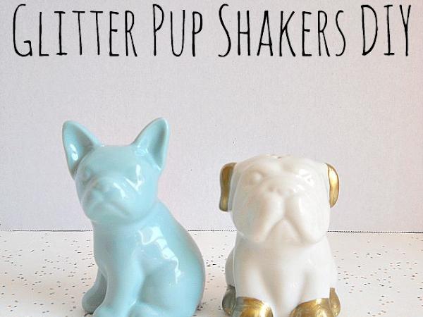 Glitter Pup Shakers DIY