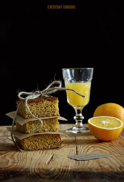 Ciasto pomarańczowe z polentą wg Sophie Dahl