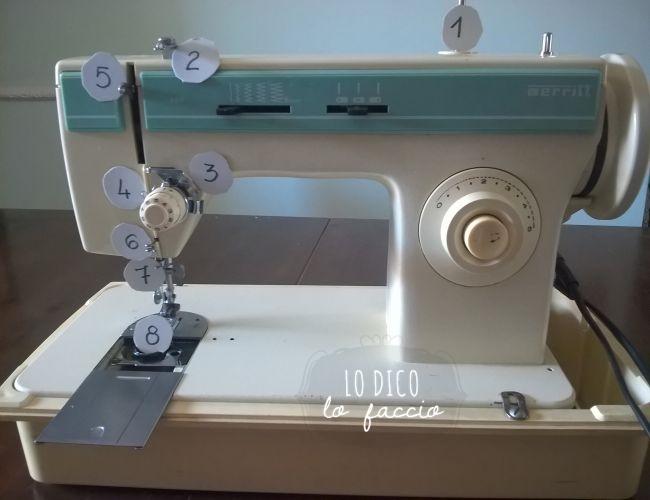 Come cucire a macchina per la prima volta parte 1 lo for Infilare macchina da cucire singer