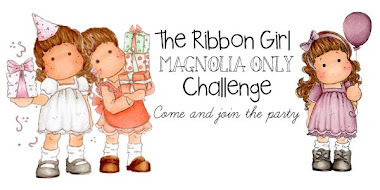 Thrilled to be on the Ribbon Girl 'Magnolia Only' DT