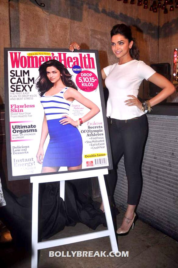 Deepika Padukone - (5) - Deepika launches double issue of Women's Health