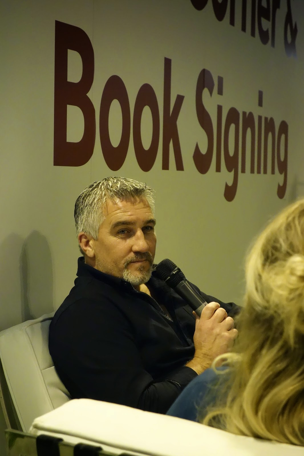 Paul Hollywood interview before book signing