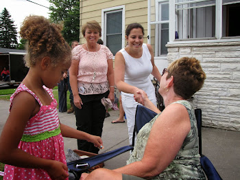 Ford Street Residents Meet Elise