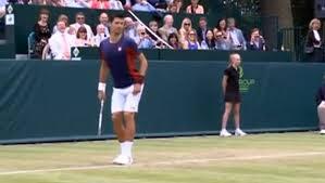 Novak Djokovic se moque de Sharapova