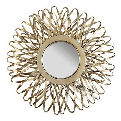 C mo decorar con accesorios vintage - Espejos con forma de sol ...