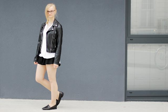 black culottes shorts