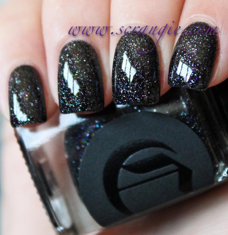 Scrangie: Cirque Colors Dark Horse Nail Polish Swatches