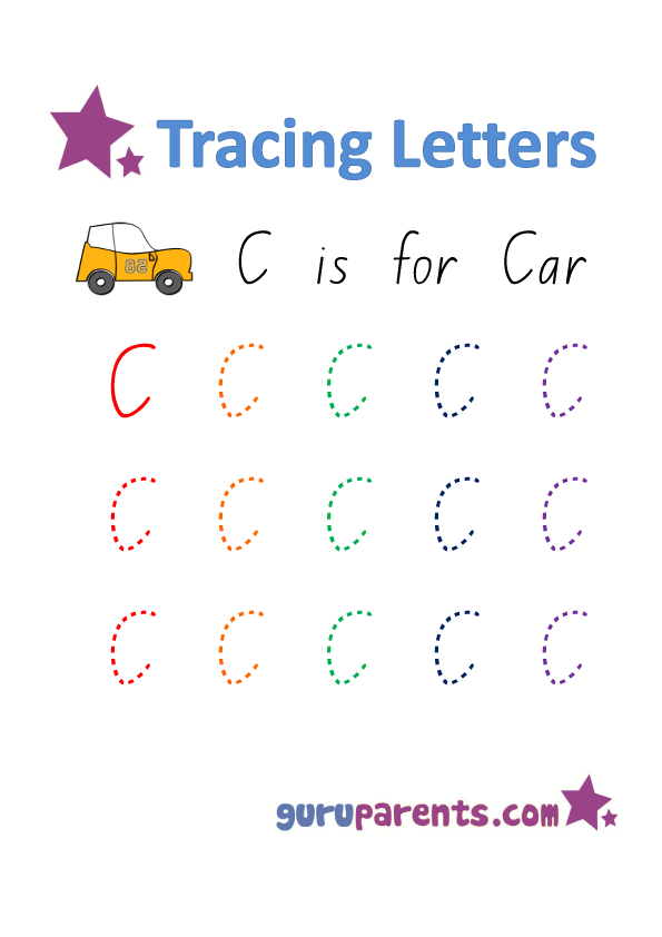 Handwriting Tracing Worksheets