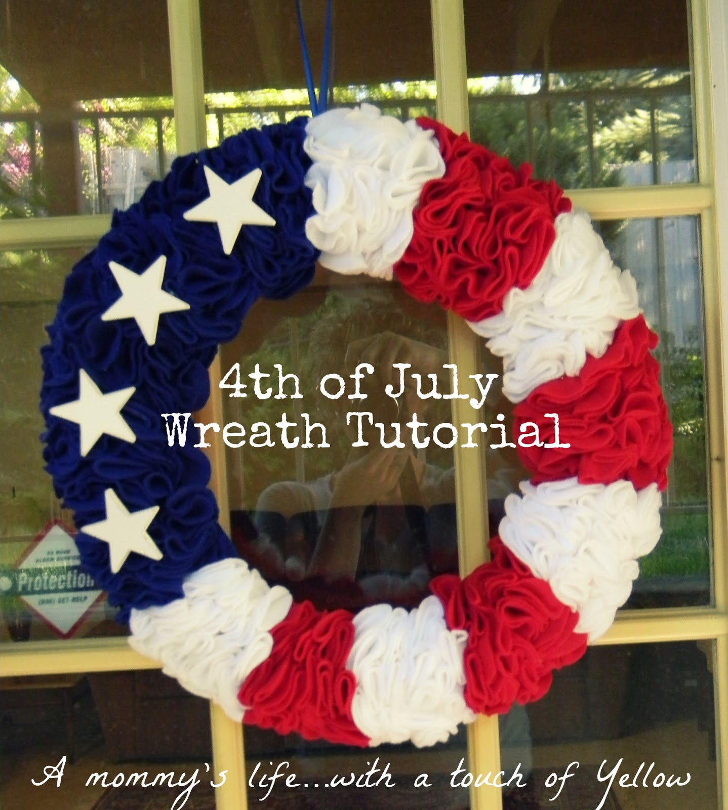 A mommy 39 s life with a touch of yellow americana decor ideas for 4th of july decoration