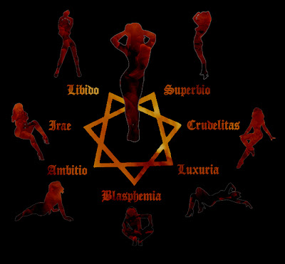 satanische Symbole