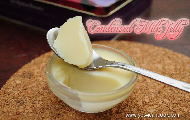 condensed milk jelly an easy dessert yes i can cook