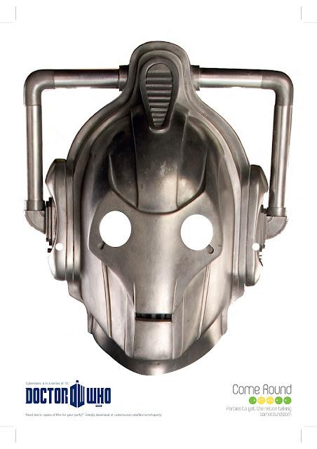 Doctor Who Printable Masks