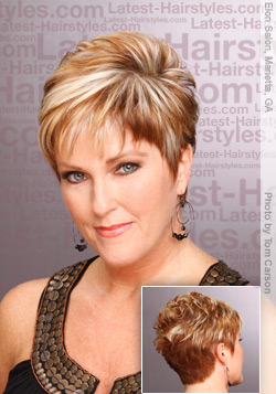 quick and easy short hairstyles | Medium Hairstyle Fashions