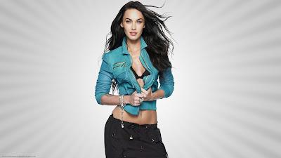 Megan Fox Widescreen Wallpaper