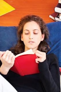 """Woman Reading Book At Home"" by marin FreeDigitalPhotos.net"