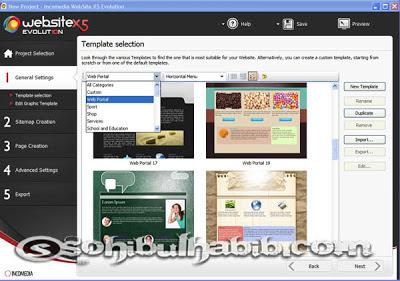 Incomedia WebSite X5 Evolution 10.0.6.31 Full Crack