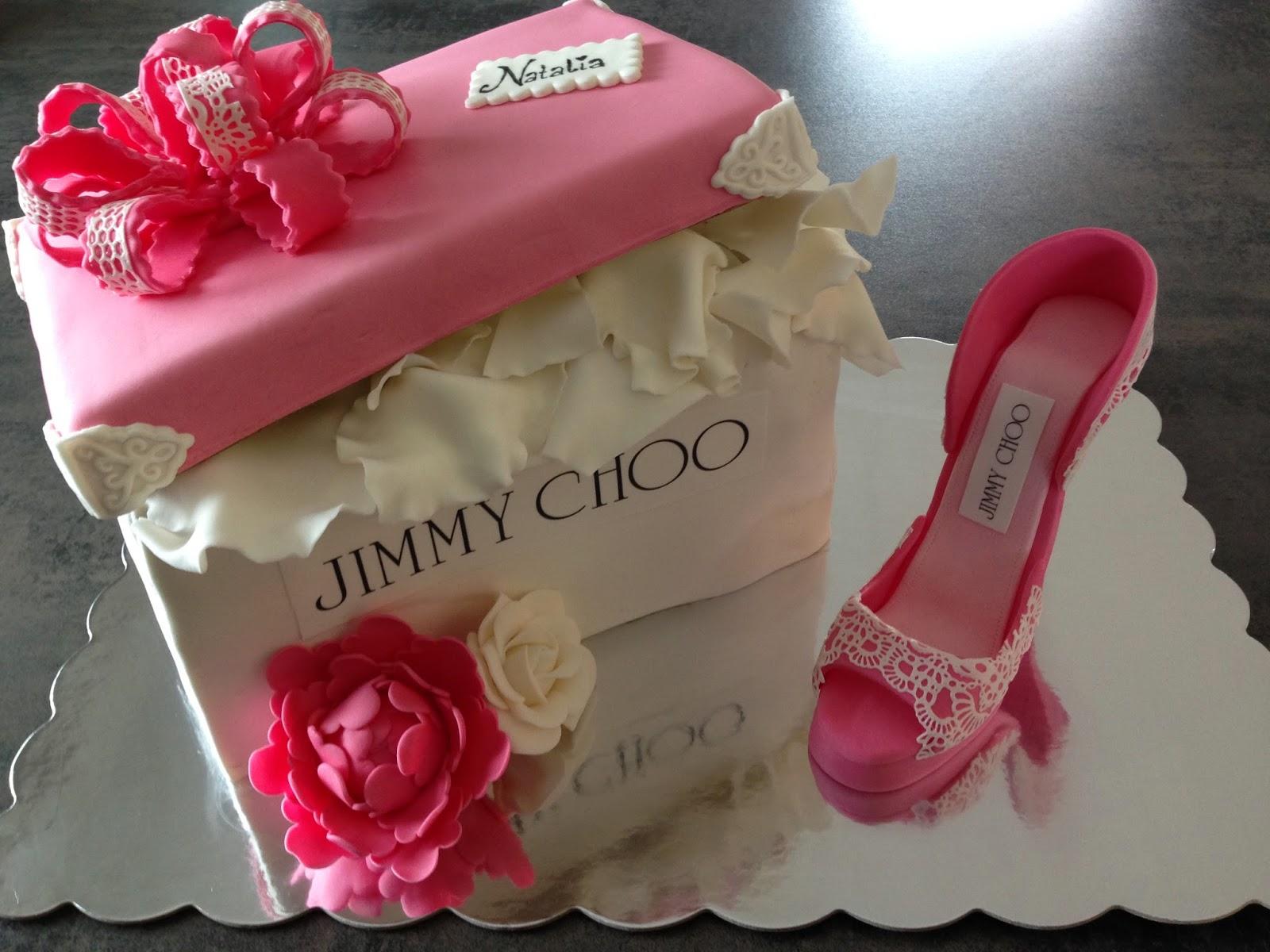 og Jimmy design kaker eske Marlenes kake sko Choo og xYFOxqwf