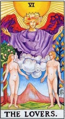 2013 - Cartea de tarot Indragosttii