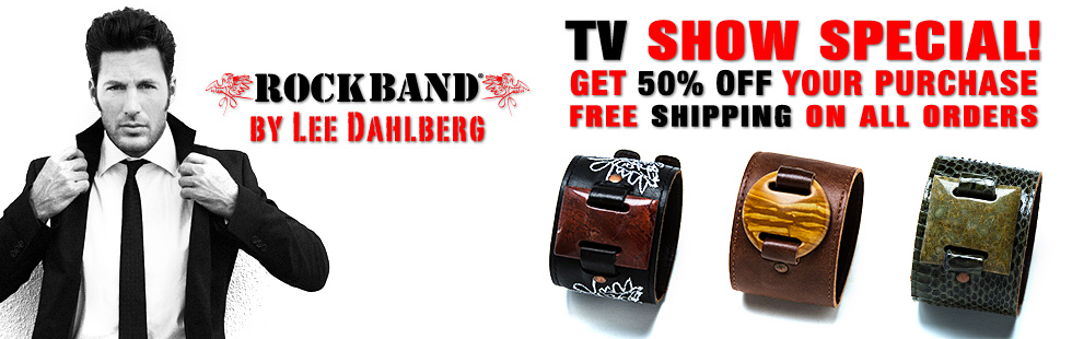 Shark Tank Was A Great Experience To Get Yours Go Www Leatherockbands Posted 28th September 2017 By Rock Bands