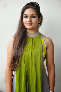 Actress Prayaga Martin Latest Picture Gallery at Pisachi Movie Success Meet 015.JPG