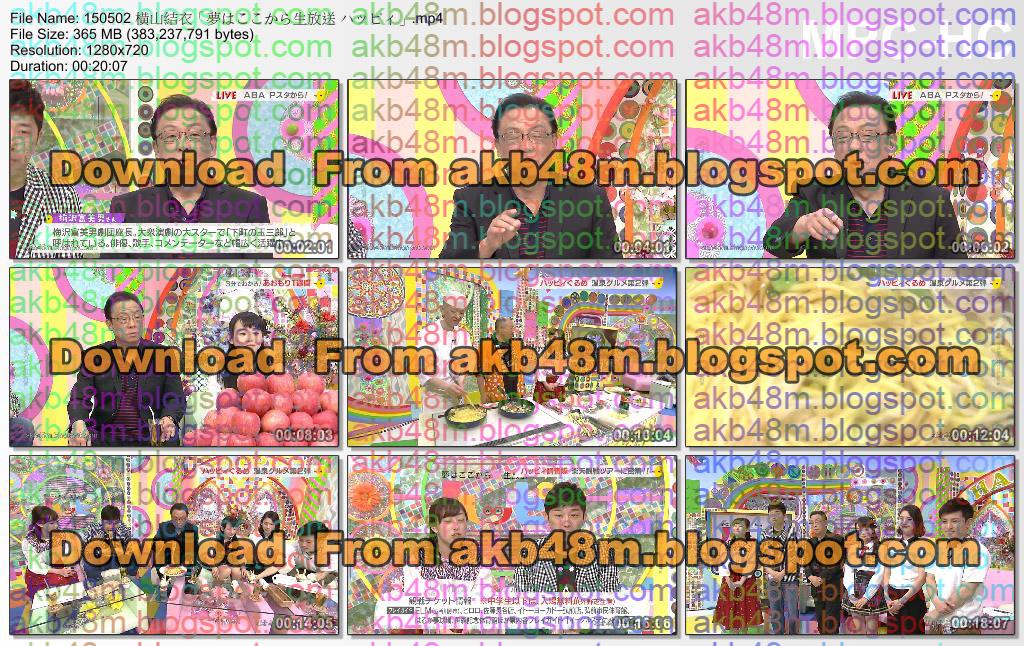 http://3.bp.blogspot.com/-IJGZwBlslGQ/VUTkelXz3FI/AAAAAAAAt5Q/ZXV5Qi4rpSI/s1600/150502%2B%E6%A8%AA%E5%B1%B1%E7%B5%90%E8%A1%A3%E3%80%8C%E5%A4%A2%E3%81%AF%E3%81%93%E3%81%93%E3%81%8B%E3%82%89%E7%94%9F%E6%94%BE%E9%80%81%2B%E3%83%8F%E3%83%83%E3%83%94%E3%82%A3%E3%80%8D.mp4_thumbs_%5B2015.05.02_22.51.27%5D.jpg