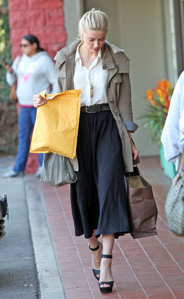 Amber Heard Fashion Clothes