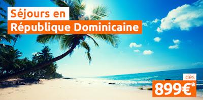 Promo séjour République Dominicaine
