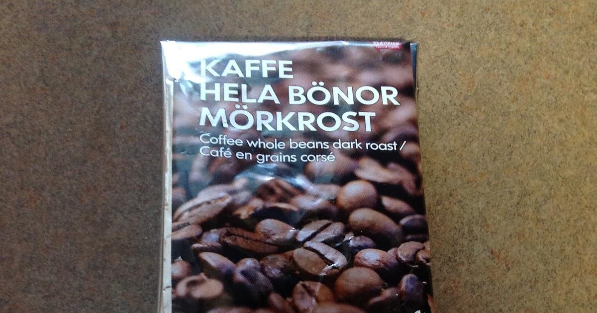Coffee Review Kaffe Hela Bönor Mörkrost A Morning Publication