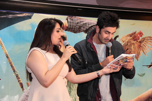 Ranbir Kapoor promotes Barfi in United Kingdom (U.K.)