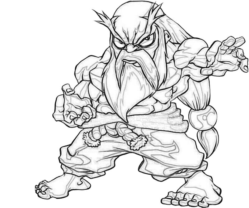 gouken-chibi-coloring-pages