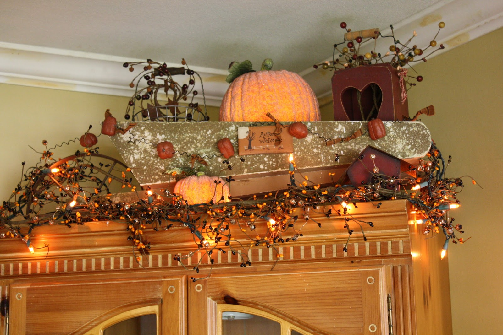 farmhouse fall decor prim fall decor - Fall Decor