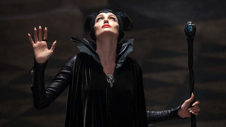 angelina jolie in maleficent movie 2014 hd