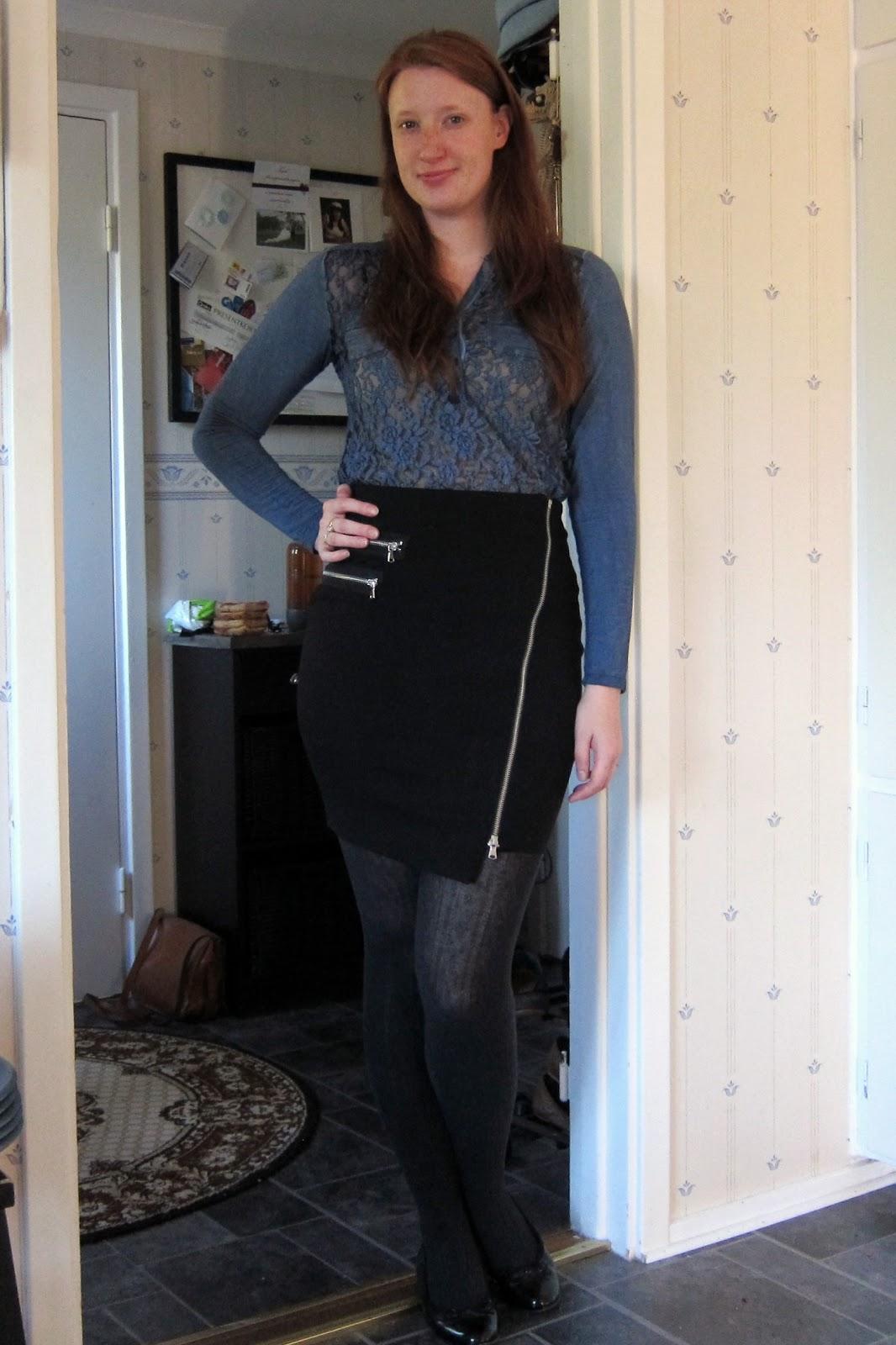 Ur min garderob: Utblidningssnygg