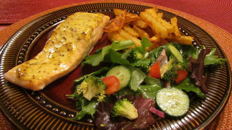 Les humeurs de messidor cuisiner des pav s de saumon - Comment cuisiner pave de saumon ...