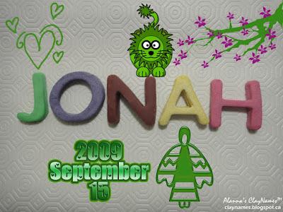Jonah September 15 2009
