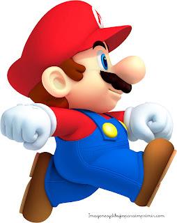 Mario para imprimir